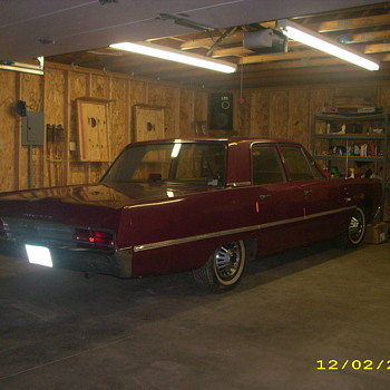1967 Plymouth Fury II 4 Door
