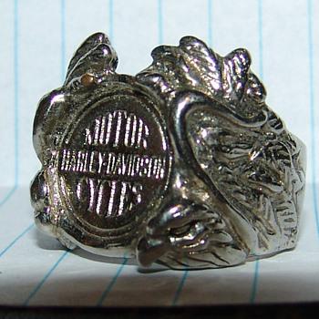 harley daveidon ring