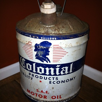 Colonial oil Jacksonville Fl - Petroliana