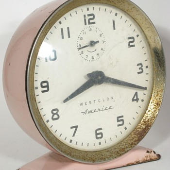 Westclox America and Shelby Alarm Clocks, Introduced 1957