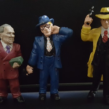 Prune face, Itchy and Dick Tracy