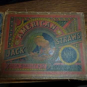 Jack Straws Milton Bradley No. 1.. Is it rare ? - Games