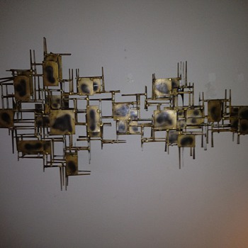 Mid Century Modern Wall Decoration--Marc Creates