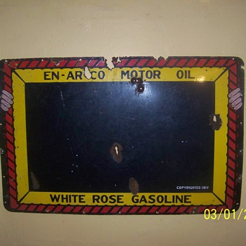 white rose gasoline  - Petroliana