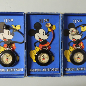 MICKEY LAPEL WATCHES - Pocket Watches