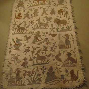 can't identify - Rugs and Textiles