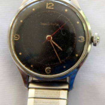 Jaeger Le-Coultre Watch with unique logo (is it real?)