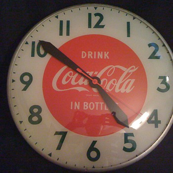 Vintage Coca Cola Wall Clock - Coca-Cola
