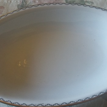Seltmann weiden handled serving dish  - China and Dinnerware