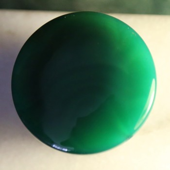 Very Large Green Bead - Costume Jewelry