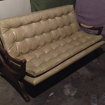 Wish I knew more about this piece. Antique couch. Victorian? Antique