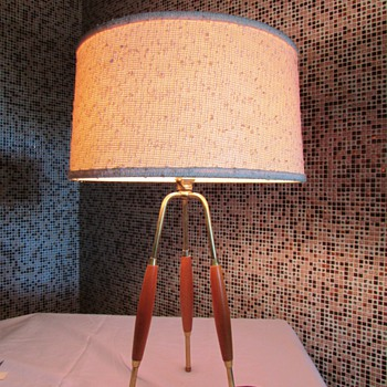 Gerald Thurston Tripod Table Lamp - Mid-Century Modern
