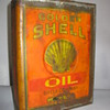 Early Shell Oil Can