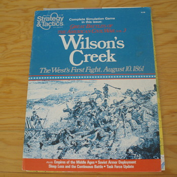 WILSON'S CREEK STRATEGY AND TACTICS #80 - Games