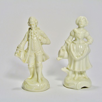 GERMAN PORCELAIN FIGURINES  - Figurines