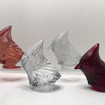 Fostoria Cardinal Heads