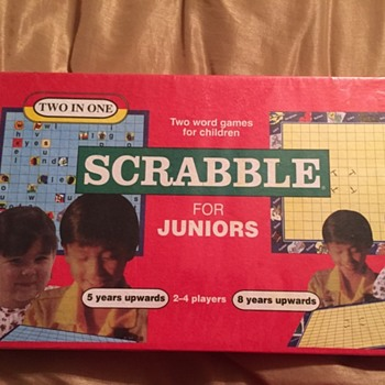 Two in One - Scrabble For Juniors