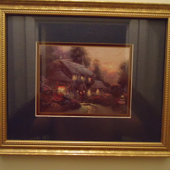 THOMAS KINKADE ACCENT PRINT..1999
