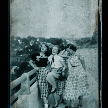 1954 Asheville - My Grandmother - Photographs