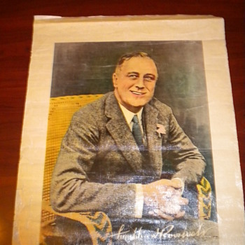 FDR Colored Poster NEED HELP!!! - Posters and Prints
