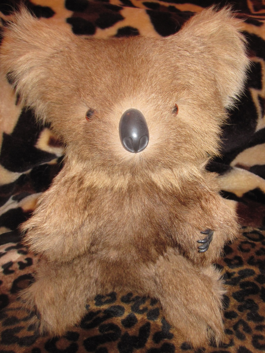 Vintage Koala Bear Real Kangaroo Fur | Collectors Weekly