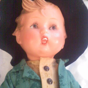 Plastic Hummel doll