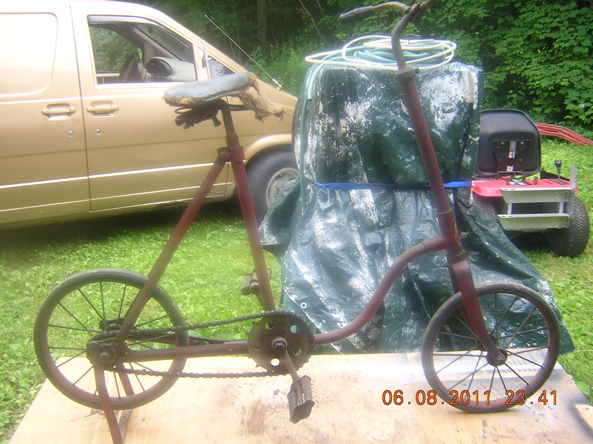 For Hard Rubber Tricycle Tires : Old childs bicycle with hard rubber tires collectors weekly