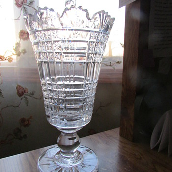 Crystal Vase, is this a Waterford? Help!