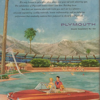 1953 - Plymouth Cranbrook Advertisement
