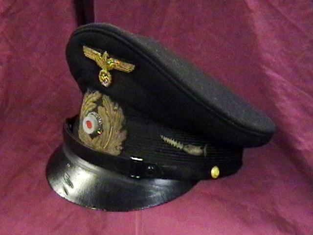 Ww Ii Kriegsmarine Nco Visor Cap U 106 Collectors Weekly
