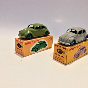 Models by Dinky Toys and TrI-ang Spot On