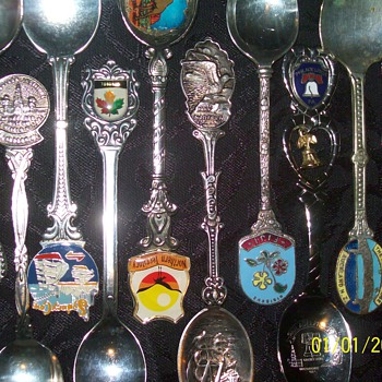 much loved spoons - Sterling Silver