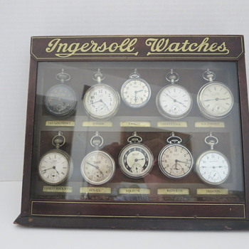 Ingersoll Watches Store Counter Display Cabinet