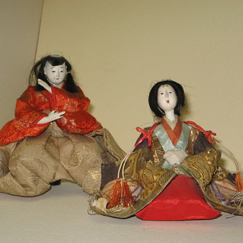 Antique Doll's From Japan - Asian