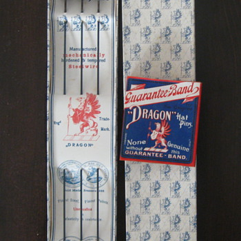 Dragon Germany Hair Pins in original packaging - Fine Jewelry