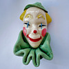 My 4th addition... Vintage ELZAC Clown Brooch Pin