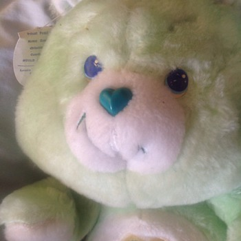 My lucky 80s care bear