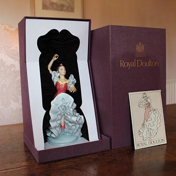 Royal Doulton Figurines - would love some more info. - Figurines