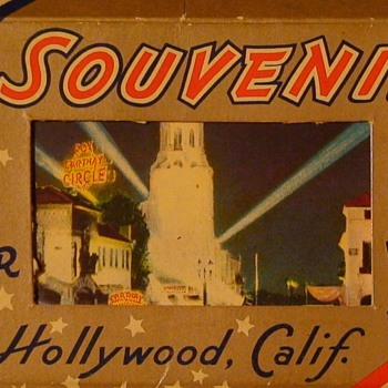Hollywood Miniature Souvenir Postcards - Postcards