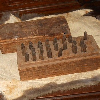 Antique Metal Punch Set - Tools and Hardware