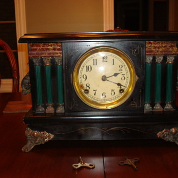 Antique Sessions Clock - Clocks