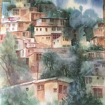 Nice water color / colour painting. - Visual Art