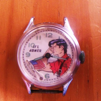 Li'L Abner Wristwatch - Wristwatches