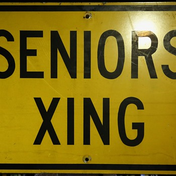 SENIORS XING - sign - Signs