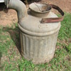 galvanized Railroad related water cans