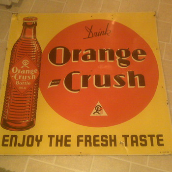 Orange Crush Sign...can someone tell me about it?