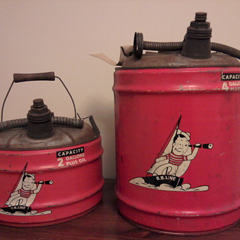 B.B. Line Gas Cans - Advertising