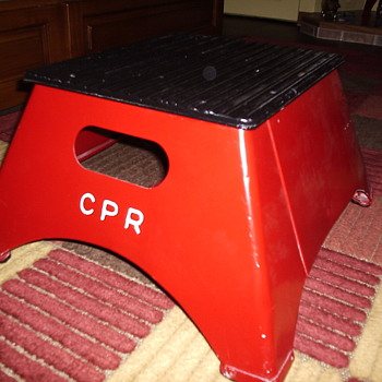 Canadian Pacific Railroad Stool