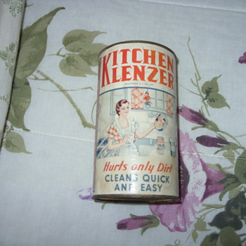 1935 kitchen klenzer bank - Coin Operated