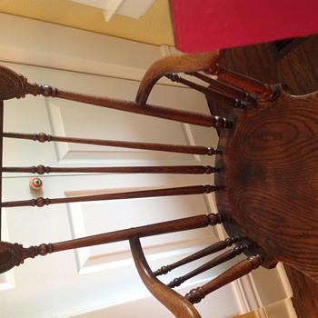 Old dining room chair - Furniture
